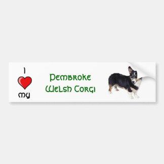 Pembroke Welsh Corge Bumper Sticker
