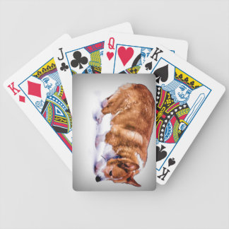 Pembroke Welsh Corgi Bicycle Playing Cards