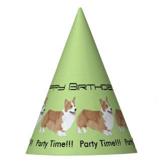 Pembroke Welsh Corgi - Birthday Party Hat