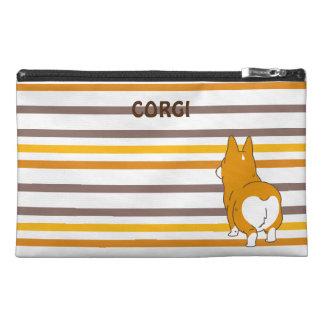 pembroke welsh corgi border travel accessory bag