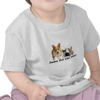 Pembroke Welsh Corgi Breast Cancer Toddler Shirt