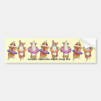 Pembroke Welsh Corgi Bumper Sticker