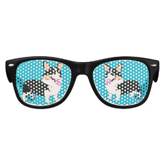 Pembroke Welsh Corgi Cartoon Kids Sunglasses