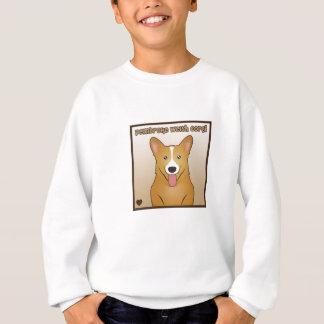 Pembroke Welsh Corgi Cartoon Sweatshirt
