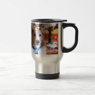 Pembroke Welsh Corgi Christmas Travel Mug