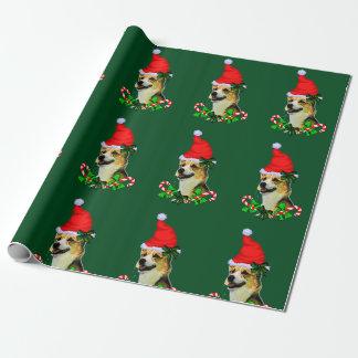 Pembroke Welsh Corgi Christmas Wrapping Paper