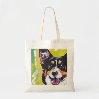 Pembroke Welsh Corgi Colorful Pop Art Tote Bag