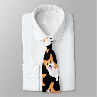 Pembroke Welsh Corgi Custom Colour Tie
