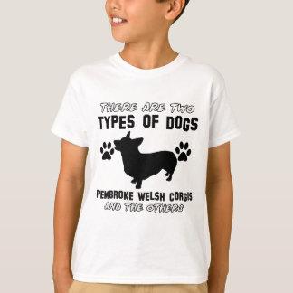 Pembroke Welsh Corgi dog Designs T-Shirt