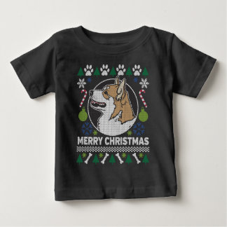 Pembroke Welsh Corgi Dog Ugly Christmas Sweater