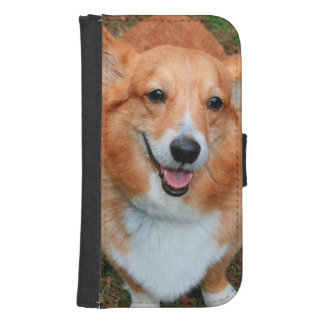 PEMBROKE WELSH CORGI GALAXY S4 WALLET CASE