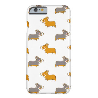 pembroke welsh corgi hand drawing handle barely there iPhone 6 case