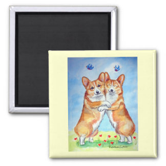 Pembroke Welsh Corgi Magnets