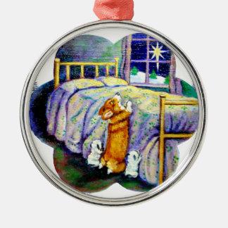 Pembroke Welsh Corgi Ornament Round Premium
