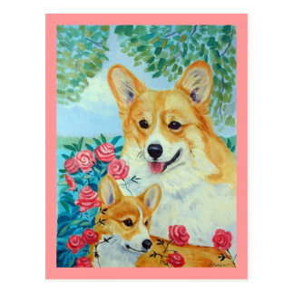 Pembroke Welsh Corgi Postcards