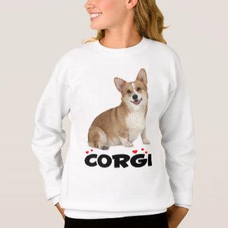 Pembroke Welsh Corgi Puppy Dog Red Love Girls Sweatshirt