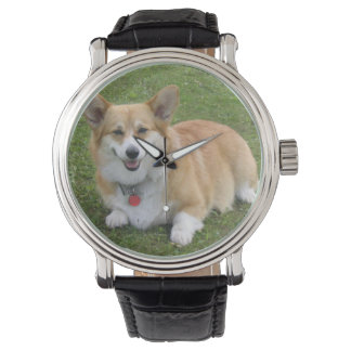 Pembroke Welsh Corgi Wrist Watch