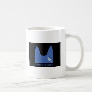 PEN Blue on black Coffee Mug