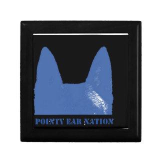 PEN Blue on black Gift Box