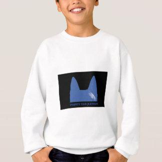 PEN Blue on black Sweatshirt