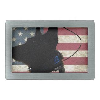 PEN Flag Belt Buckle