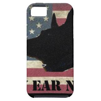 PEN Flag BlackBkg Case For The iPhone 5