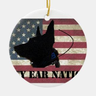 PEN Flag Ceramic Ornament