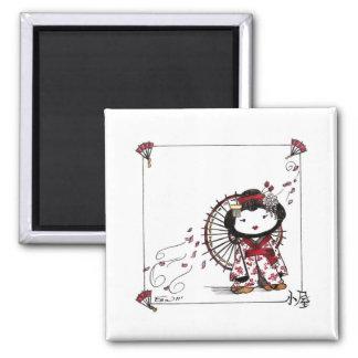 Pen Geisha Magnet