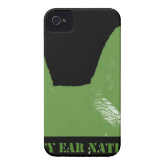 PEN Green on black Case-Mate iPhone 4 Case