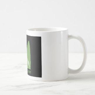 PEN Green on black Coffee Mug