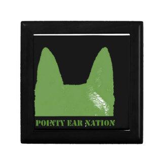 PEN Green on black Gift Box