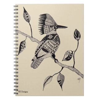 Pen & Ink Kingfisher Notebooks