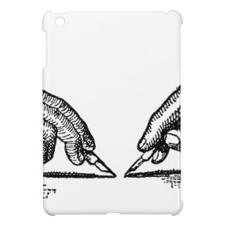 Pen Is Mightier Than the Sword Writer's Hands iPad Mini Cover