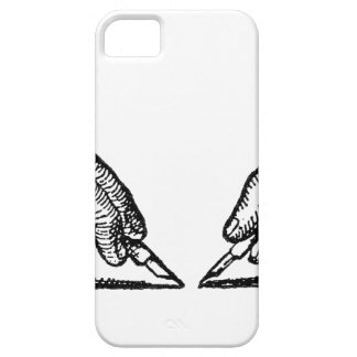 Pen Is Mightier Than the Sword Writer's Hands iPhone 5 Cover