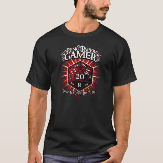 Pen & Paper Gamer T-Shirt