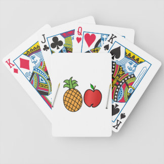 pen pineapple apple pen bicycle playing cards