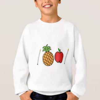pen pineapple apple pen sweatshirt