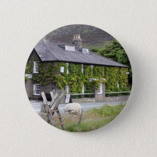 Pen-Y-Gwryd Hotel, Wales, United Kingdom 2 Inch Round Button