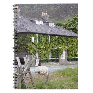 Pen-Y-Gwryd Hotel, Wales, United Kingdom Spiral Notebook