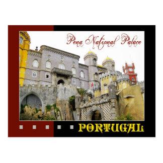 Pena National Palace, Sintra, Portugal Postcard