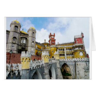 Pena Palace Lisbon Portugal UNESCO heritage Card
