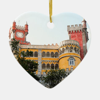 Pena Palace, Sintra, near Lisbon, Portugal, Europe Ceramic Ornament