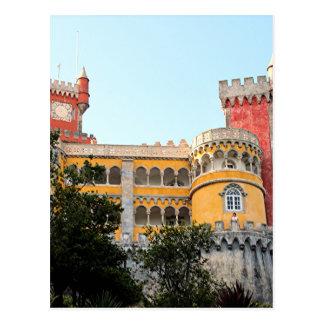 Pena Palace, Sintra, near Lisbon, Portugal, Europe Postcard