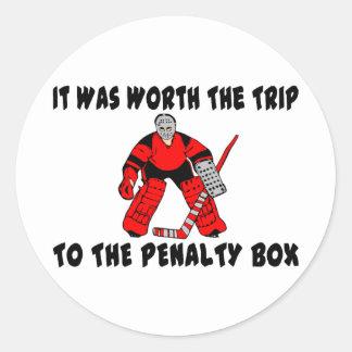 Penalty Box Classic Round Sticker