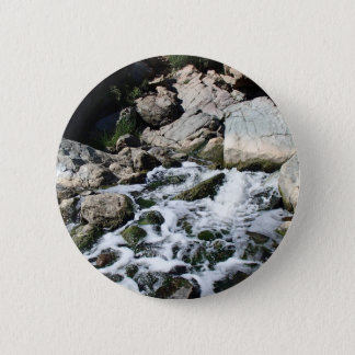 Penasquitos Waterfall 2 Inch Round Button