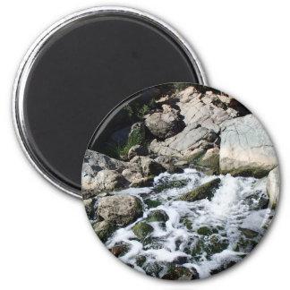 Penasquitos Waterfall 2 Inch Round Magnet