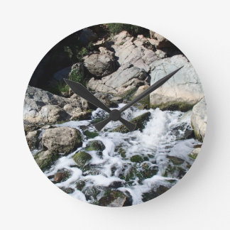 Penasquitos Waterfall Round Clock