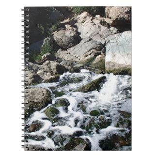 Penasquitos Waterfall Spiral Notebooks