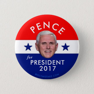 Pence for President 2017 2 Inch Round Button