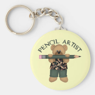 Pencil Artist Keychain
